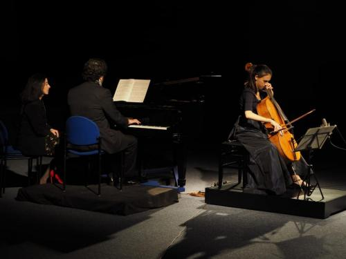 Cello and piano recital for the Foundation